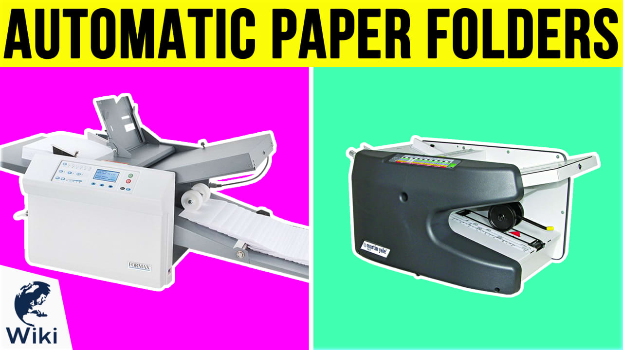 7 Best Automatic Paper Folders