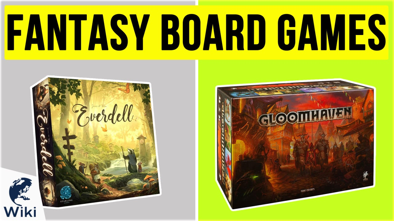 10 Best Fantasy Board Games
