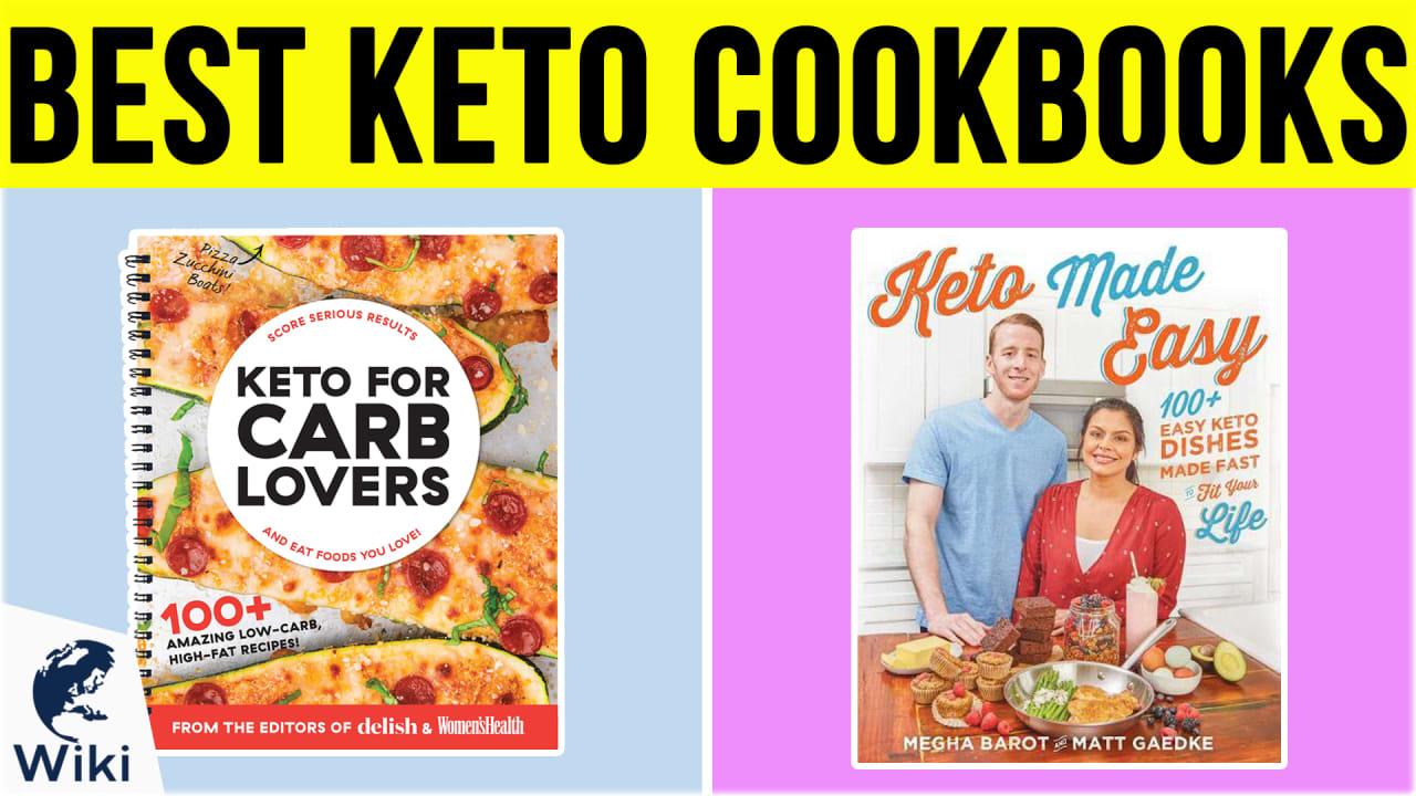 10 Best Keto Cookbooks