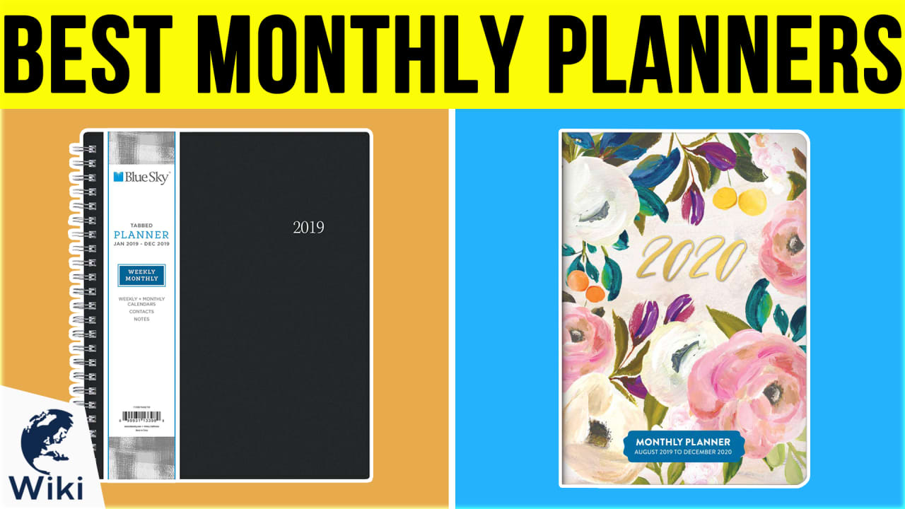 7 Best Monthly Planners