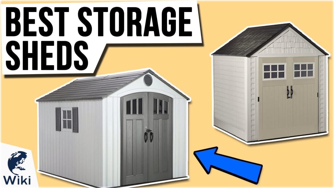 10 Best Storage Sheds