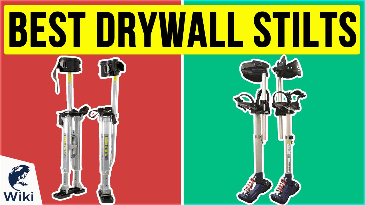 6 Best Drywall Stilts
