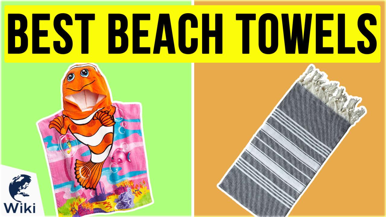 10 Best Beach Towels