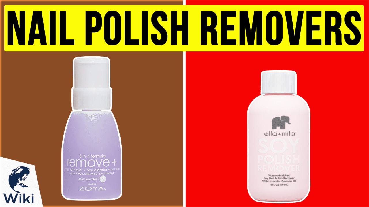 10 Best Nail Polish Removers