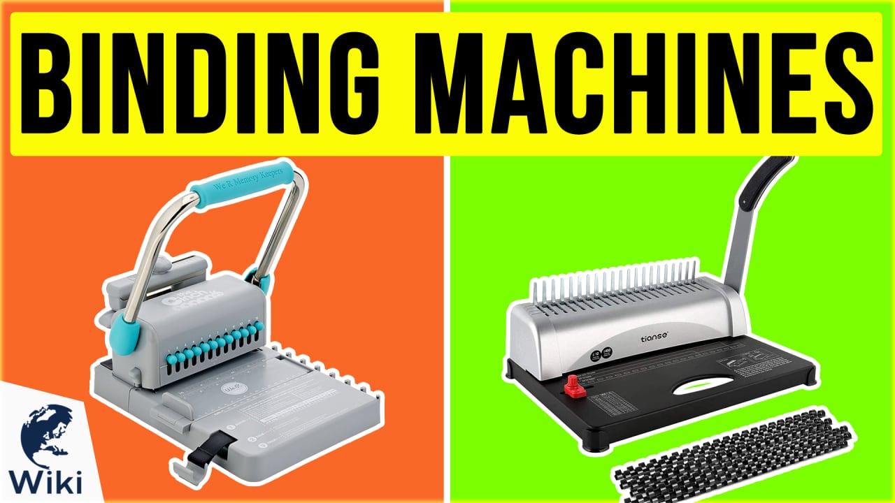 10 Best Binding Machines