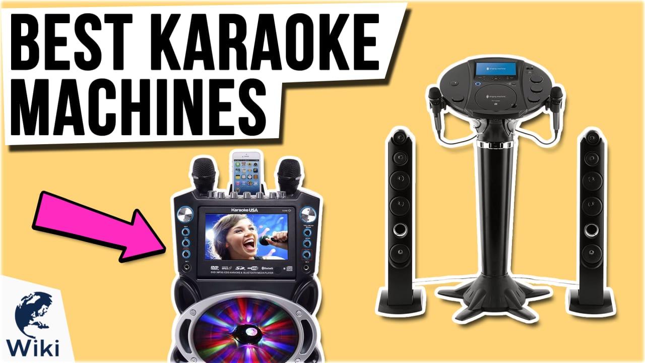 10 Best Karaoke Machines