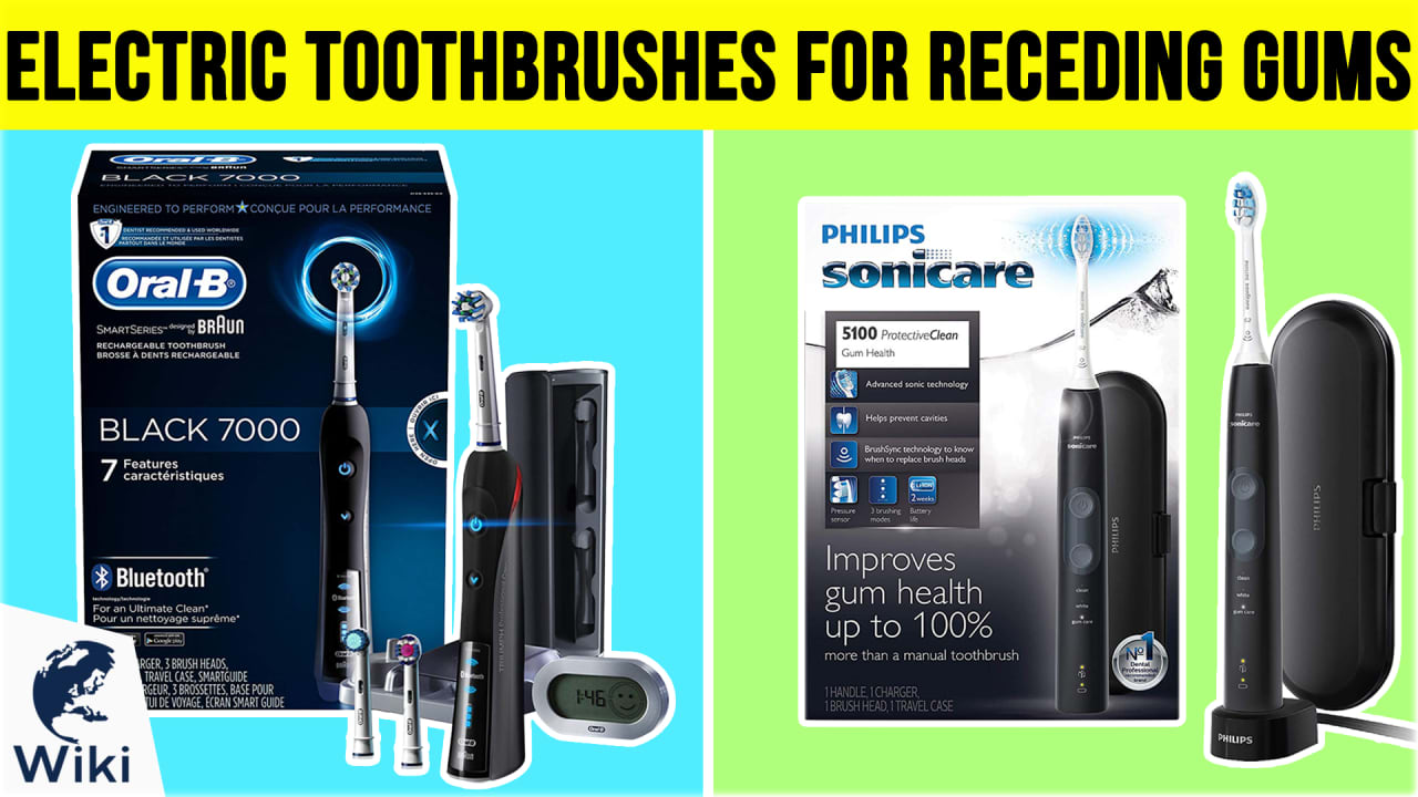 10 Best Electric Toothbrushes For Receding Gums