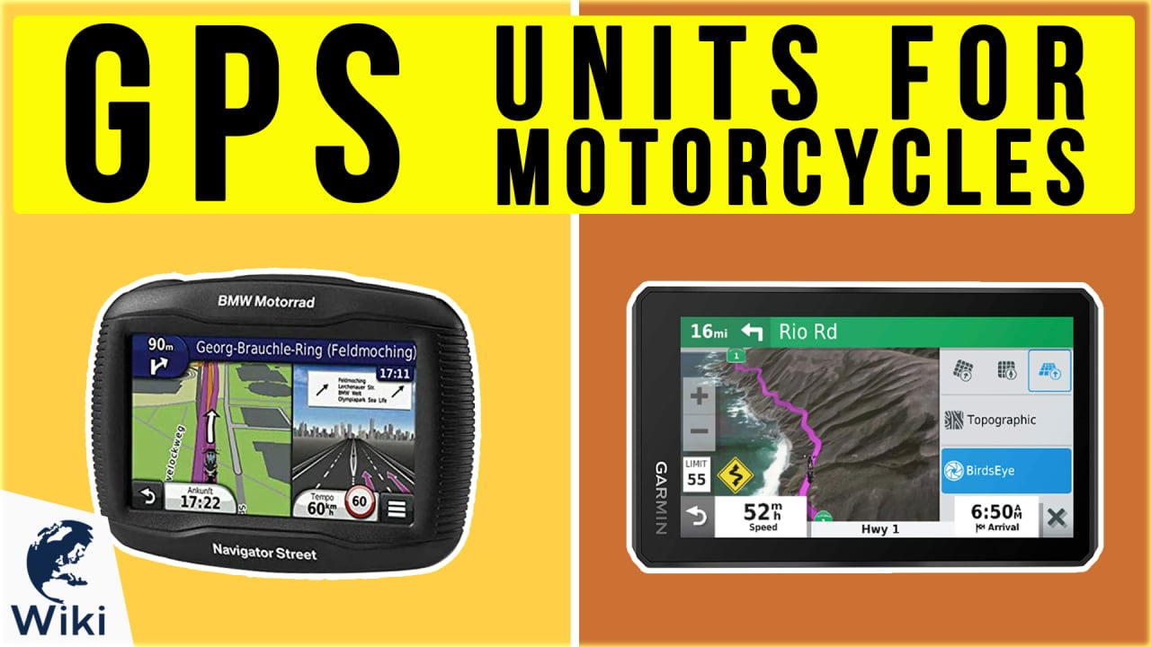 8 Best GPS Units For Motorcycles