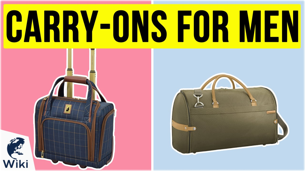 10 Best Carry-Ons For Men
