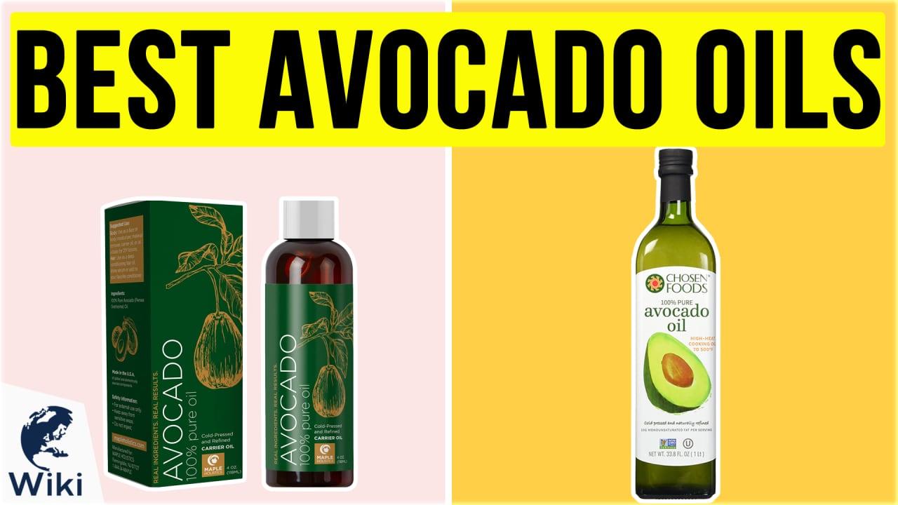 10 Best Avocado Oils