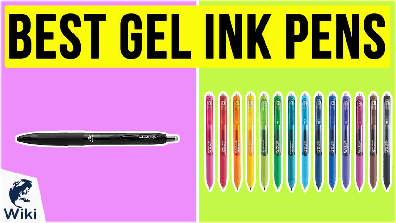 10 Best Gel Ink Pens