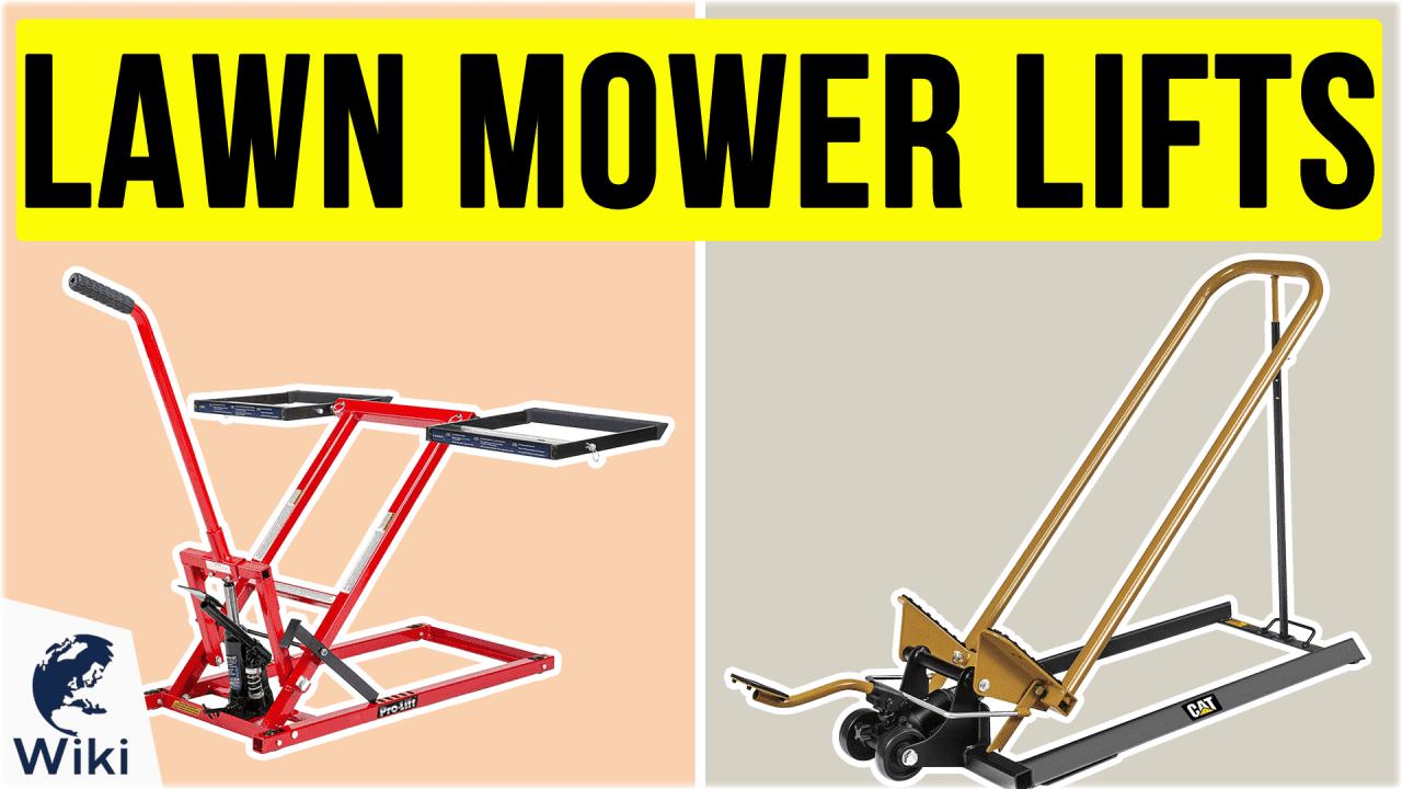 9 Best Lawn Mower Lifts