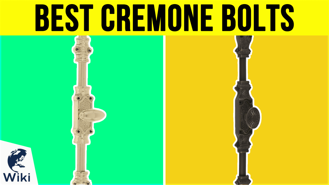 6 Best Cremone Bolts
