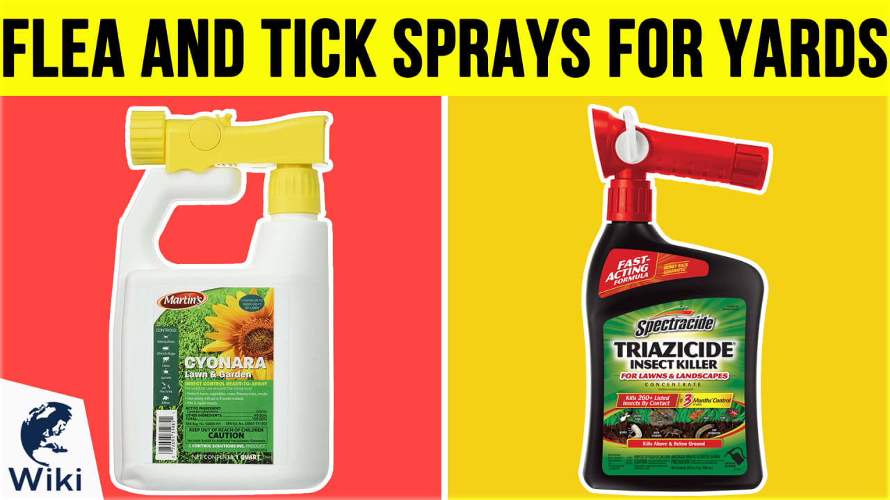 10 Best Flea And Tick Sprays For Yards