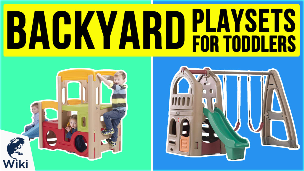 9 Best Backyard Playsets For Toddlers