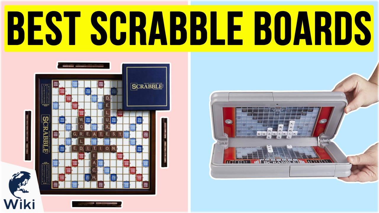 10 Best Scrabble Boards