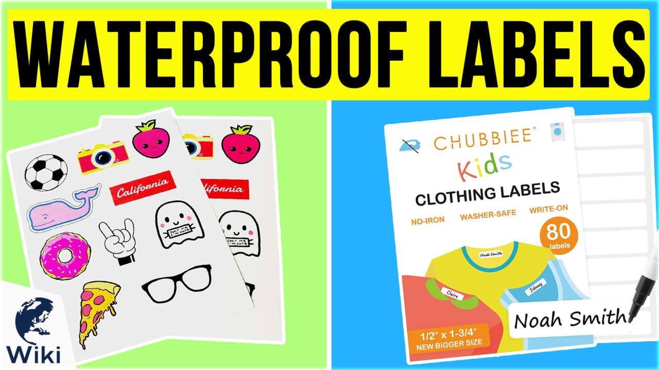 10 Best Waterproof Labels