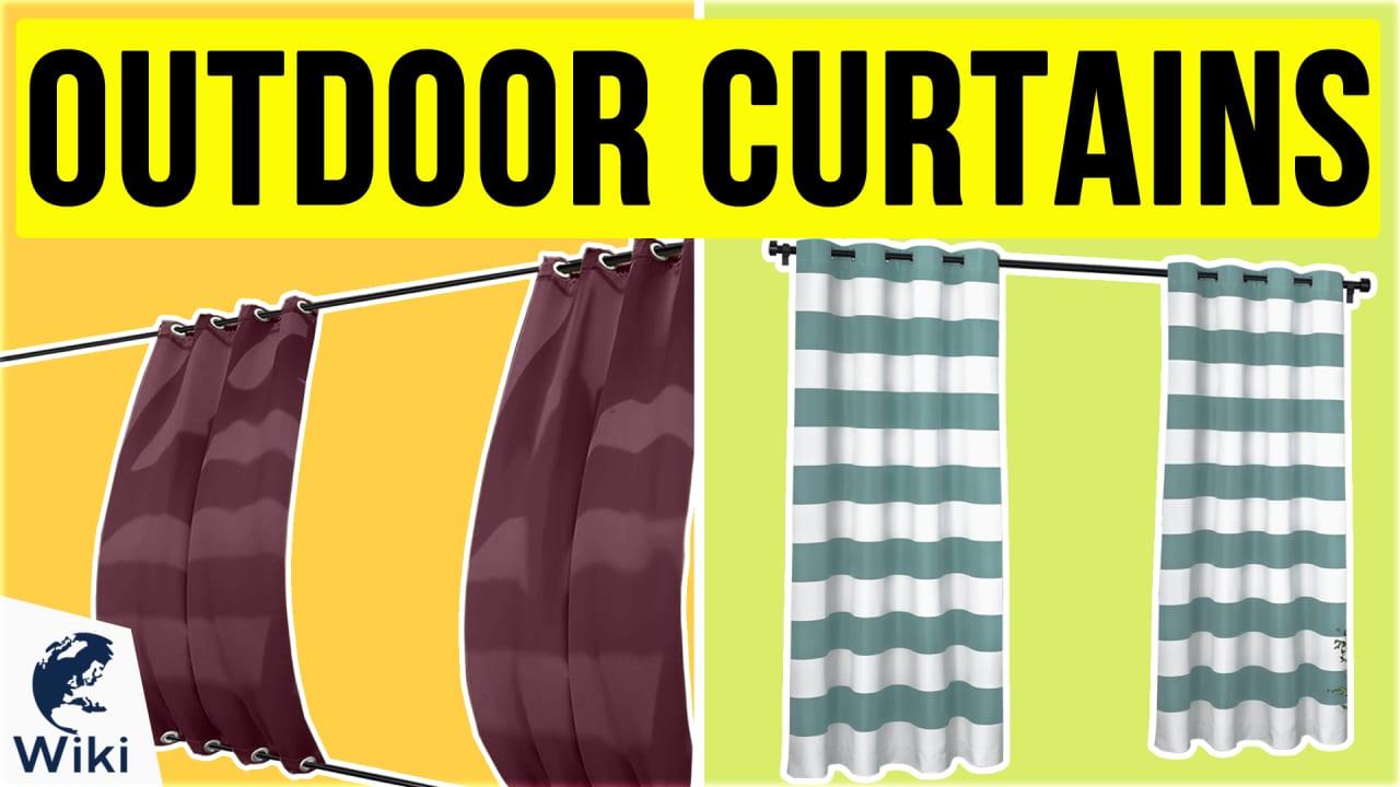 10 Best Outdoor Curtains