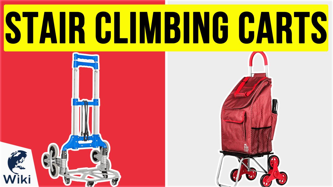 10 Best Stair Climbing Carts