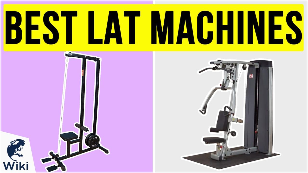 8 Best Lat Machines