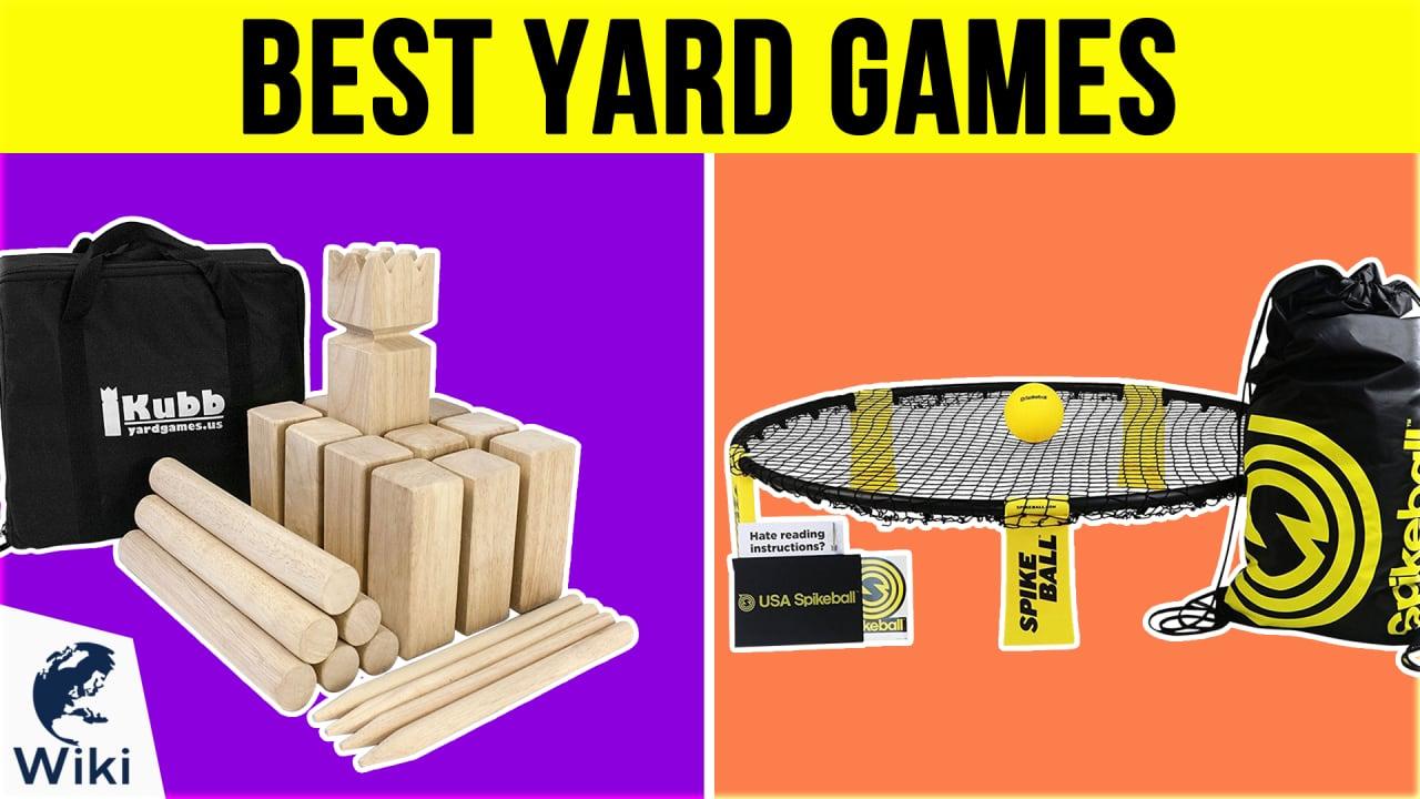 10 Best Yard Games