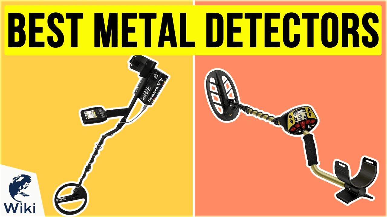 10 Best Metal Detectors