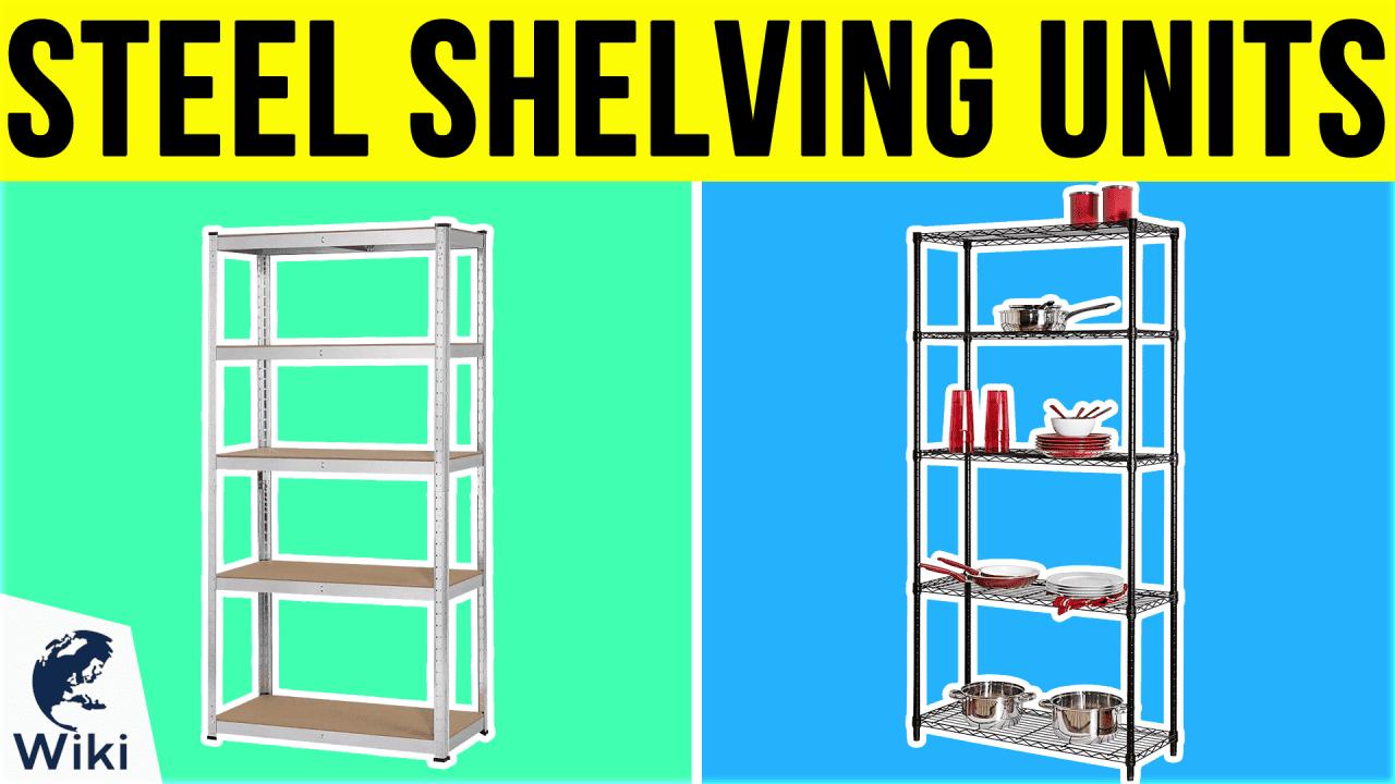 10 Best Steel Shelving Units