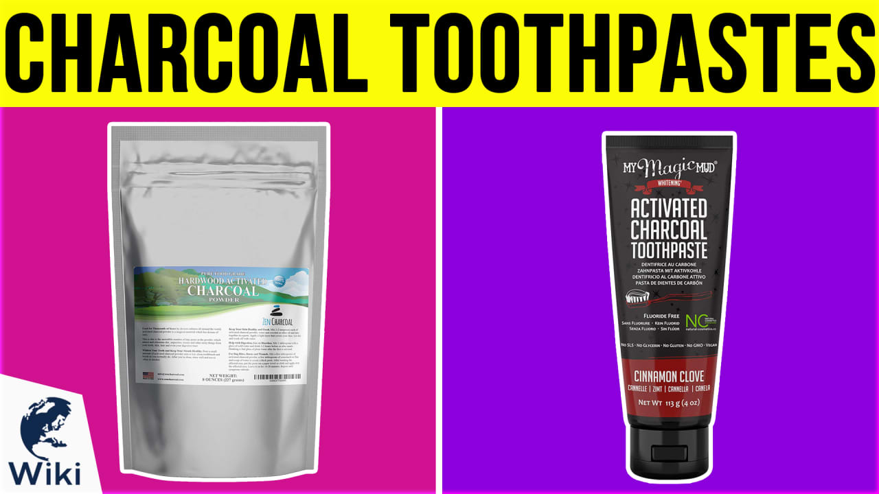10 Best Charcoal Toothpastes