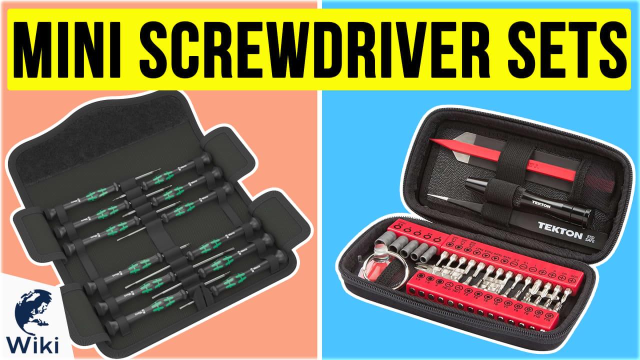 10 Best Mini Screwdriver Sets