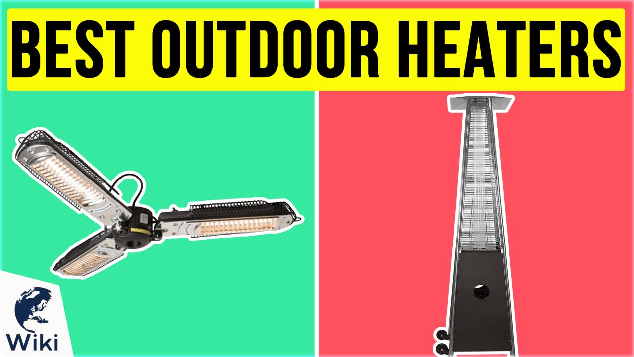 10 Best Outdoor Heaters