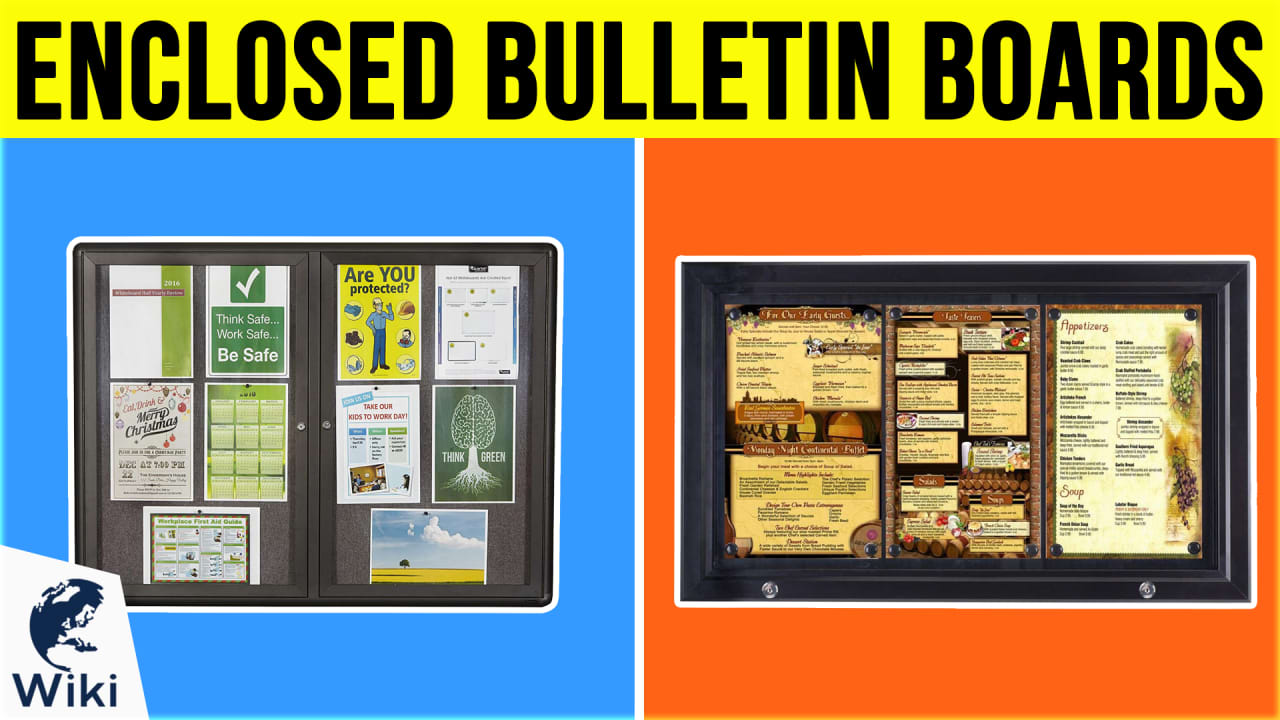 10 Best Enclosed Bulletin Boards