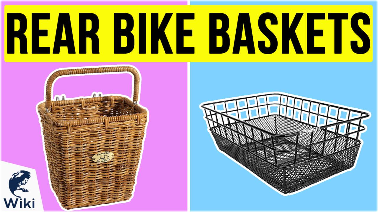 10 Best Rear Bike Baskets