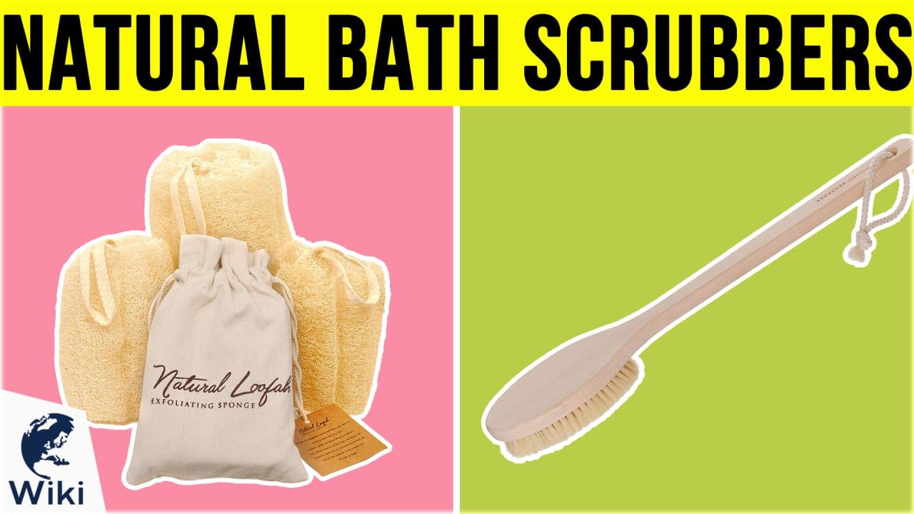 10 Best Natural Bath Scrubbers