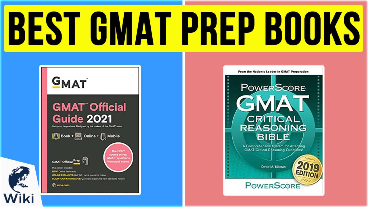 10 Best GMAT Prep Books
