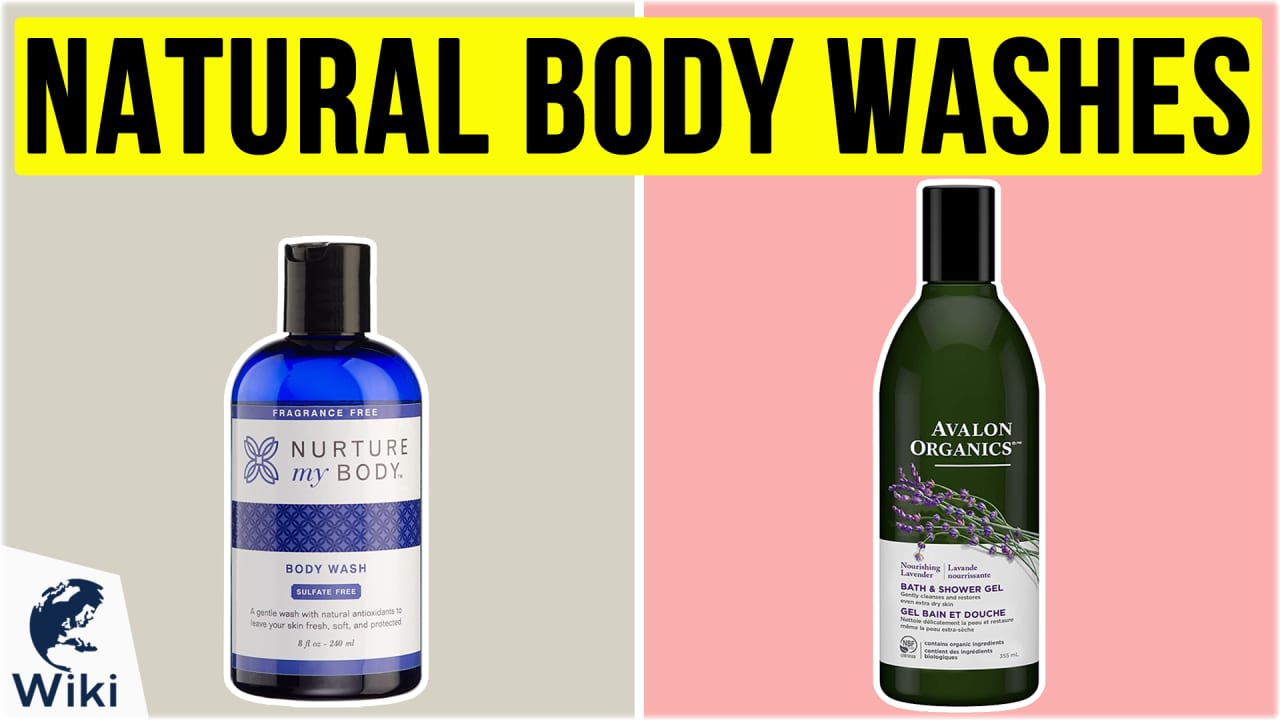 10 Best Natural Body Washes