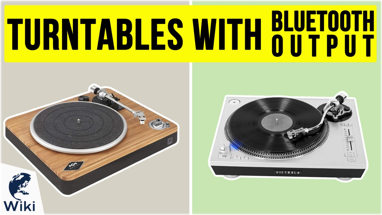 10 Best Turntables With Bluetooth Output