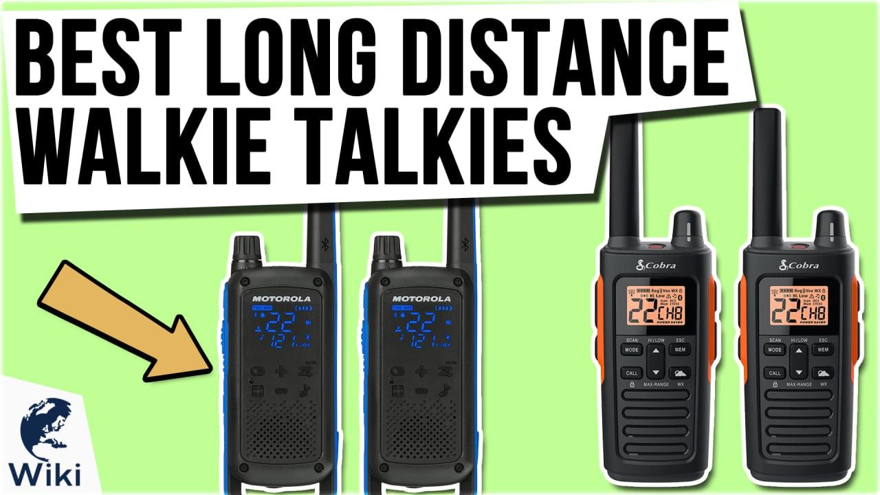8 Best Long Distance Walkie Talkies