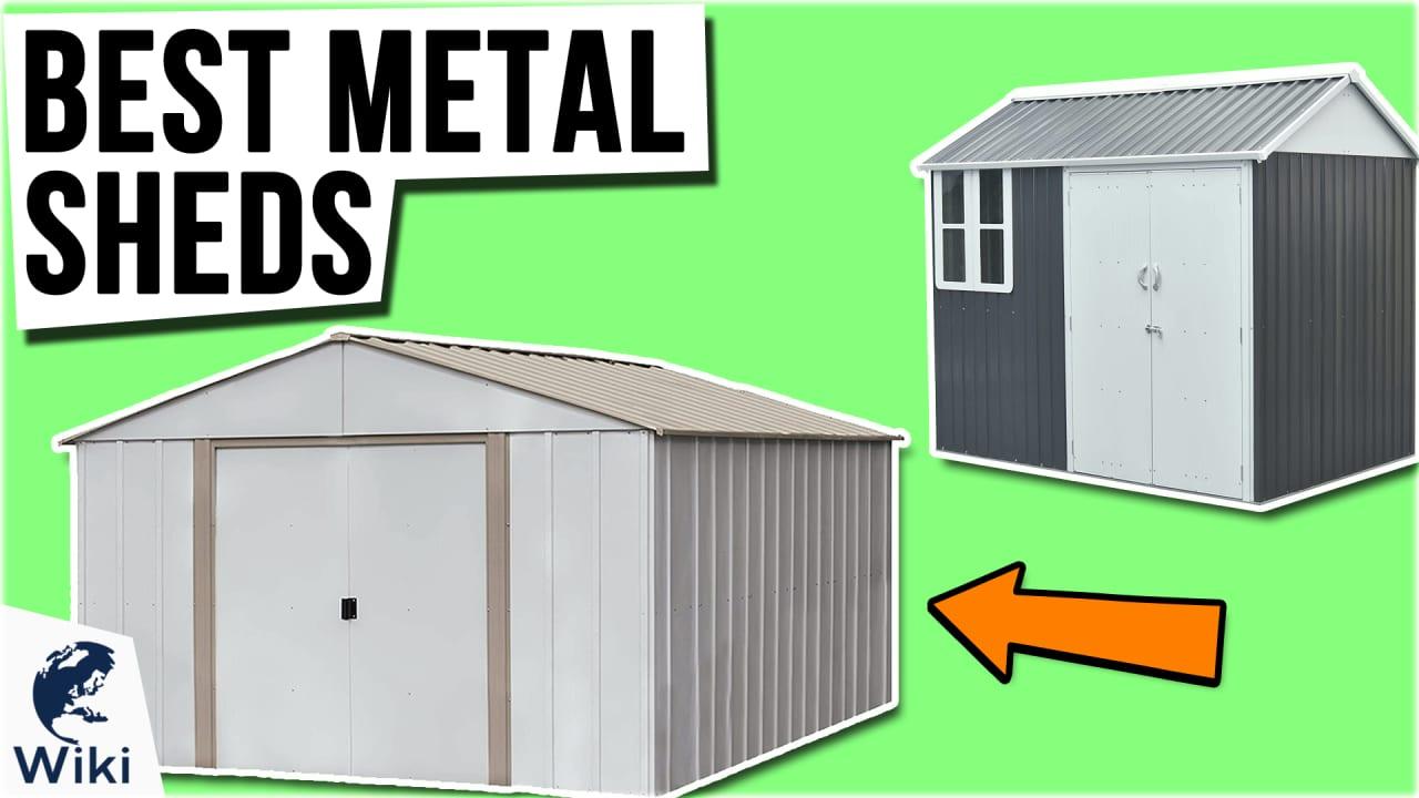 10 Best Metal Sheds