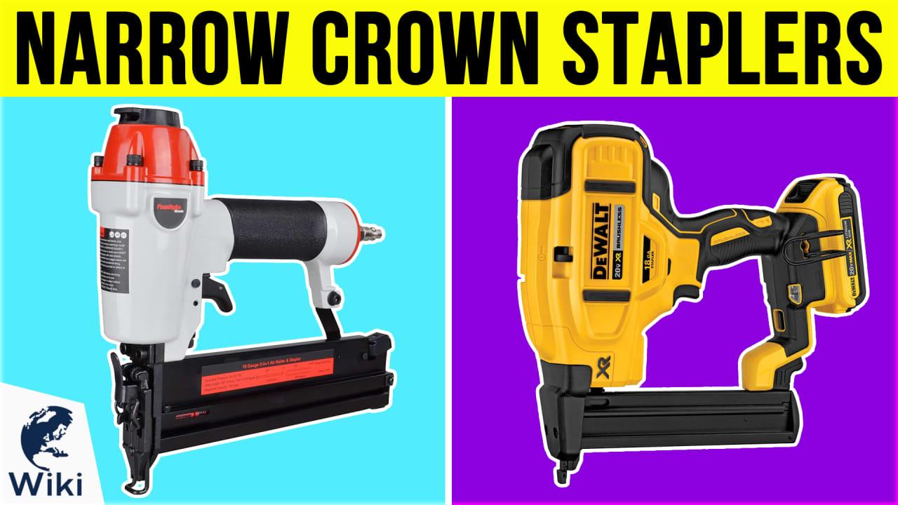 10 Best Narrow Crown Staplers
