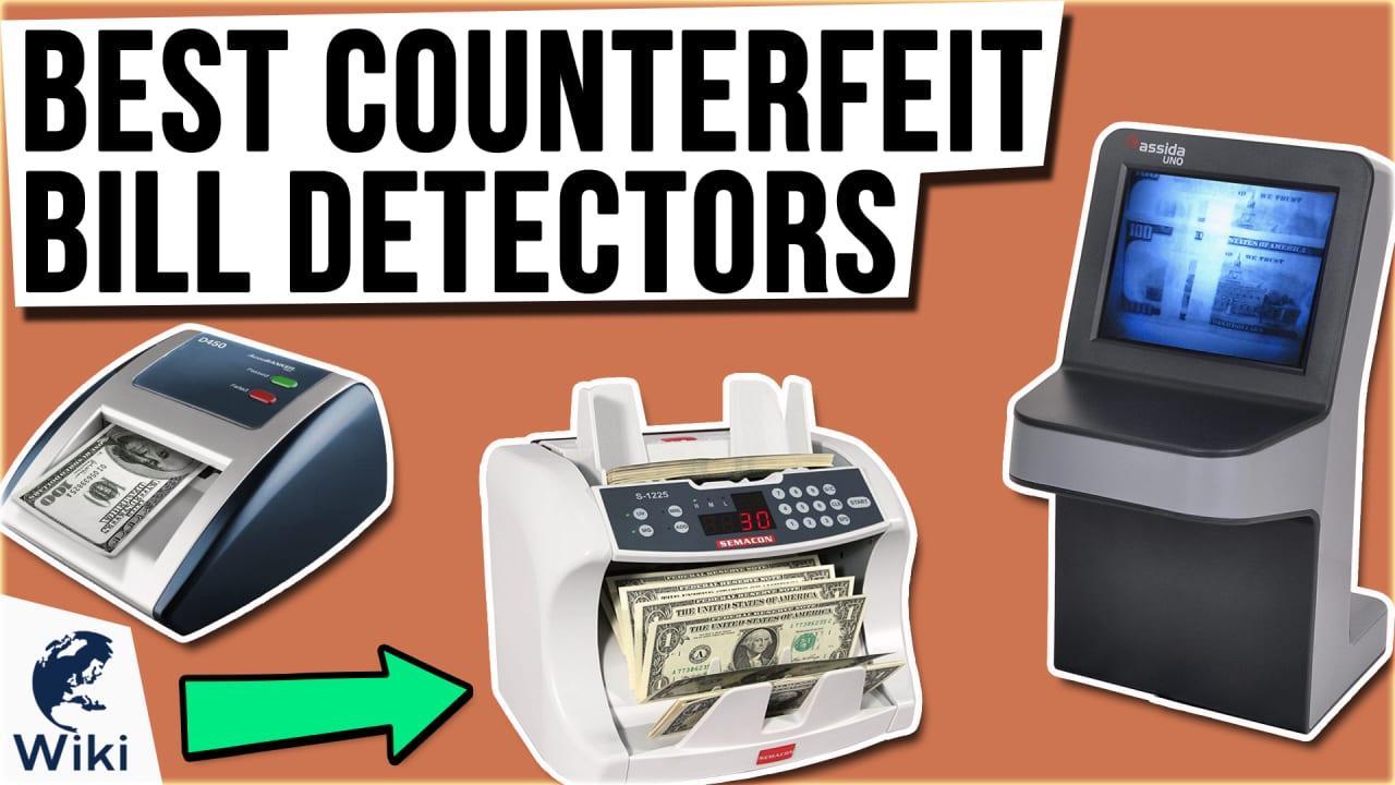 10 Best Counterfeit Bill Detectors