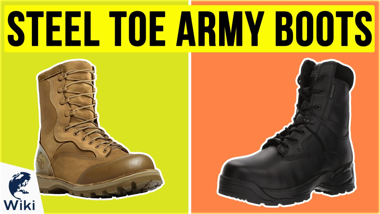 10 Best Steel Toe Army Boots