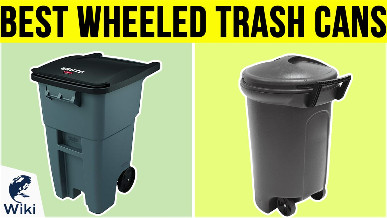 7 Best Wheeled Trash Cans