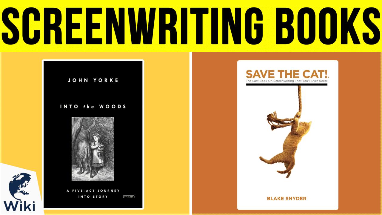 10 Best Screenwriting Books