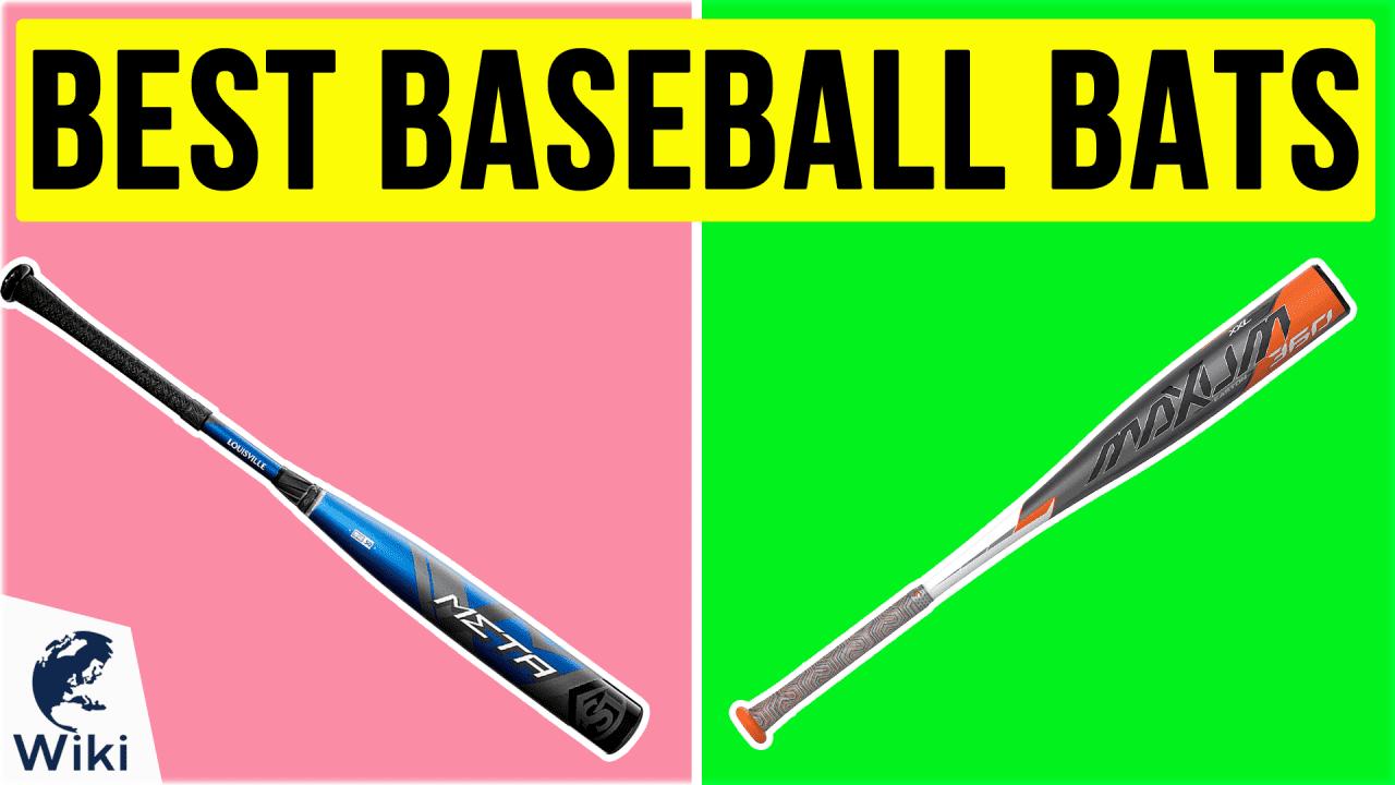10 Best Baseball Bats