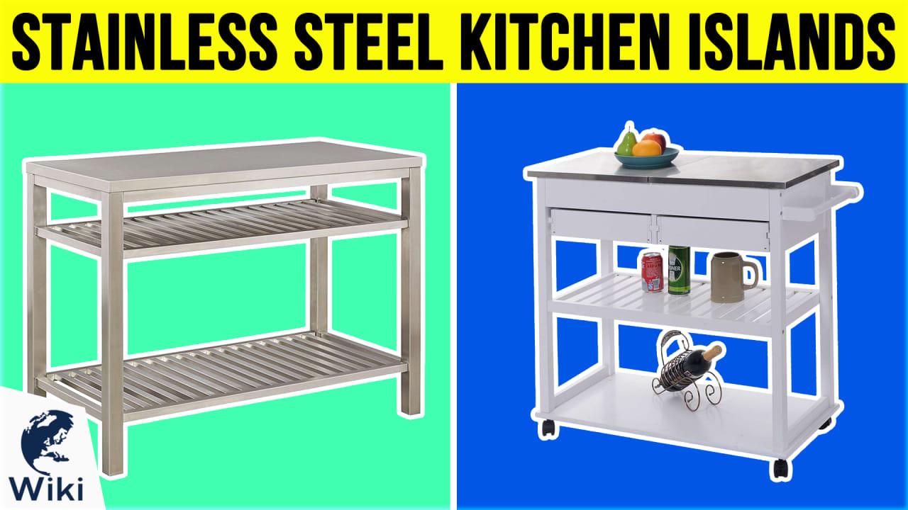 10 Best Stainless Steel Kitchen Islands