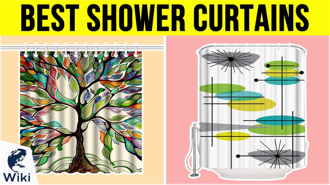 10 Best Shower Curtains