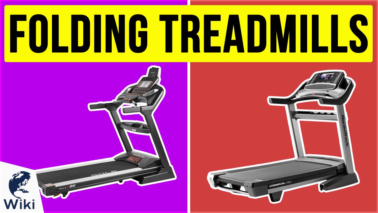 10 Best Folding Treadmills
