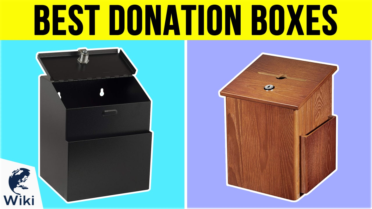 10 Best Donation Boxes