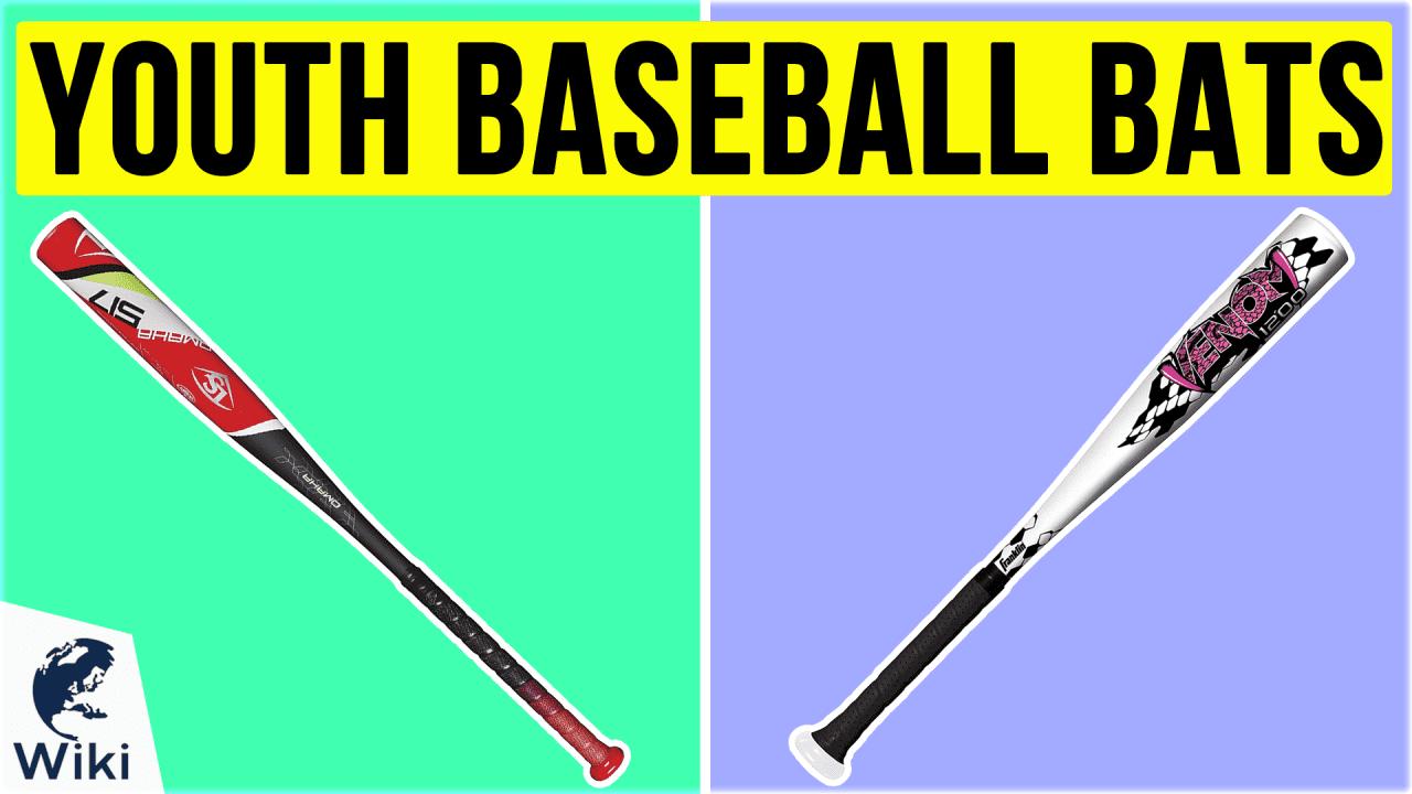 9 Best Youth Baseball Bats