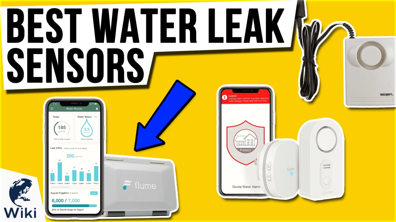 10 Best Water Leak Sensors